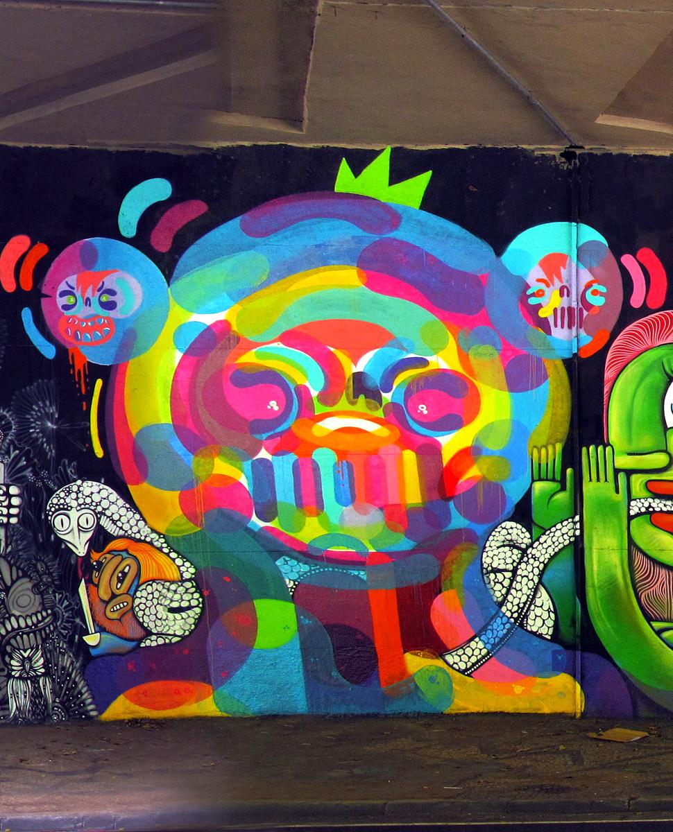 grafite em São Paulo 2015