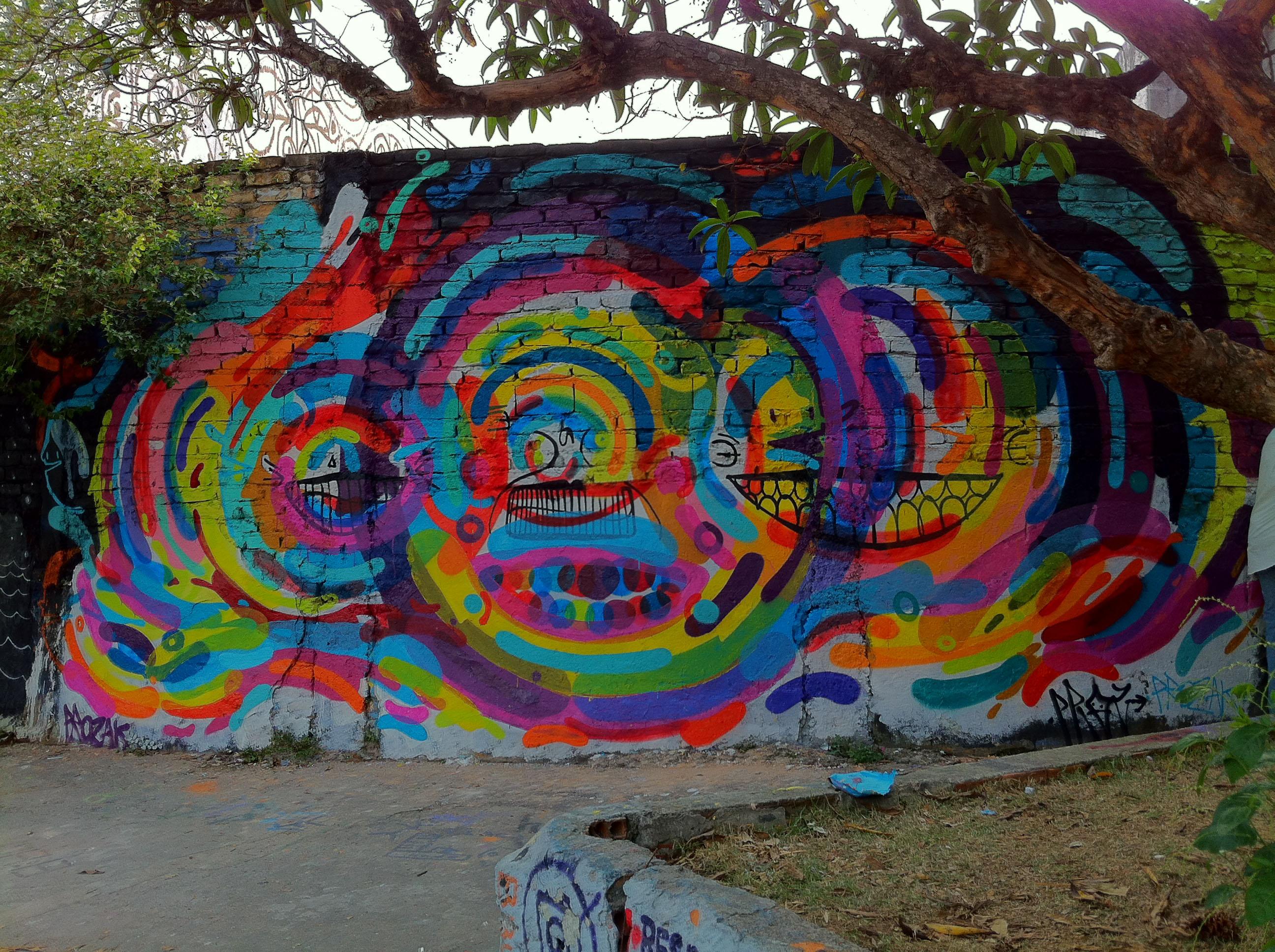Grafite no beco do batman em São Paulo